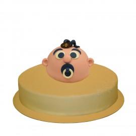 Baby Jongen Combi taart 31 pers.