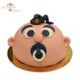 Baby Jongen taart
