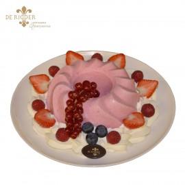 Frambozen pudding