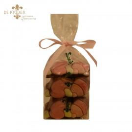 Chocolade Baby's Roze (180 gram)