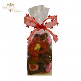 Hartjes chocolade