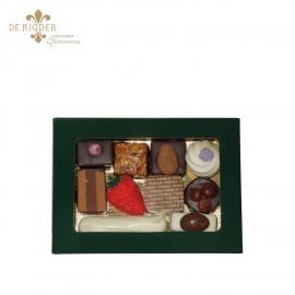 Bonbons luxe vensterdoos klein (200 gram)