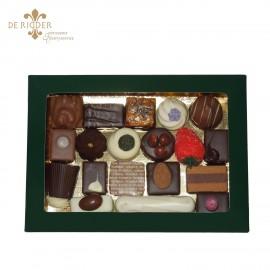 Bonbons luxe vensterdoos groot (360 gram)