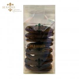 Chocolade krakelingen puur (140 gram)