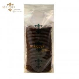 Chocolade oublies extra puur 70% cacao (260 gram)