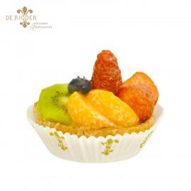 Gemengd fruit schelpje gebak