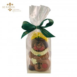 Zwarte Piet chocolade (10 cm)