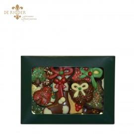 Luxe chocolade vensterdoos klein (250 gram)