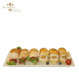 Mini broodjes op schaal