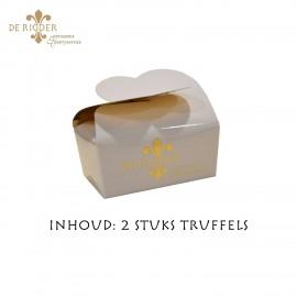 Mini Truffel Doosje Wit