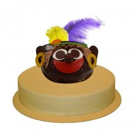 Zwarte Piet 19 pers. Kies smaak en kleur