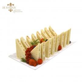 Garnalen sandwich 16 stuks op schaal