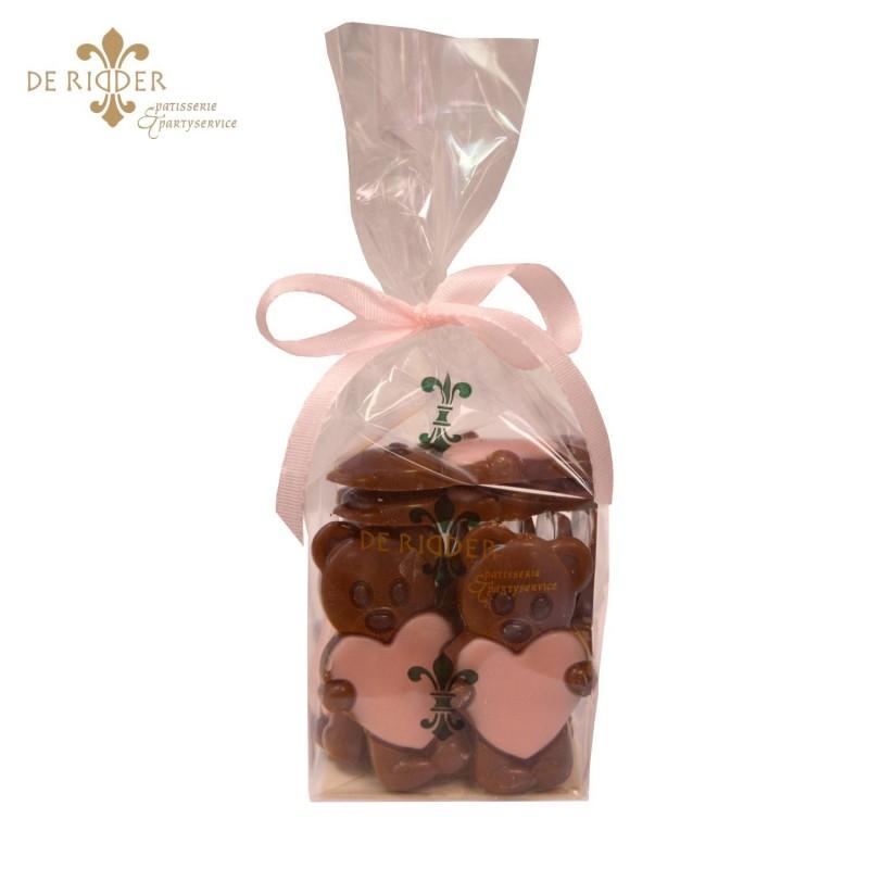 Chocolade Bertjes Roze (155 gram)