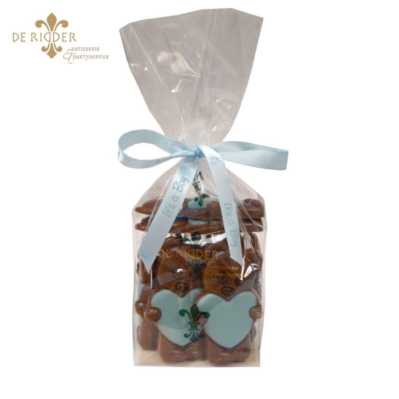 Chocolade Baby's Blauw (155 gram)