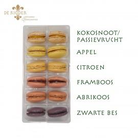Macarons Gemengd fruit