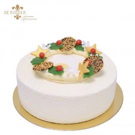 Yuzu Kerst taart